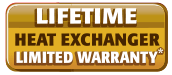 Lifetime Heat Exchange Warranty
